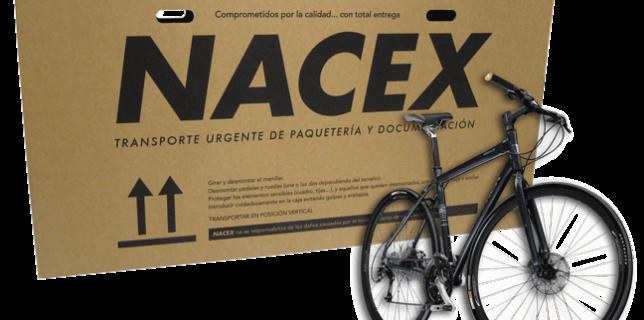 Envío de bicis por Nacex