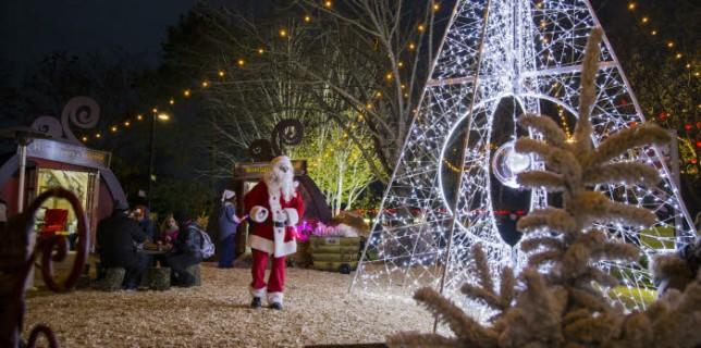 parque tematico navidad