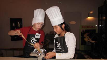 Aprenderán lo más básico de las principales cocinas del mundo.