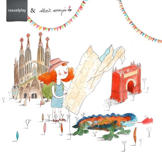 """Nueva guía ilustrada """"Barcelona con peques"""""""