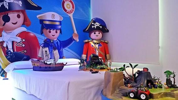 Habitación Playmobil. Foto: Hotel del Juguete