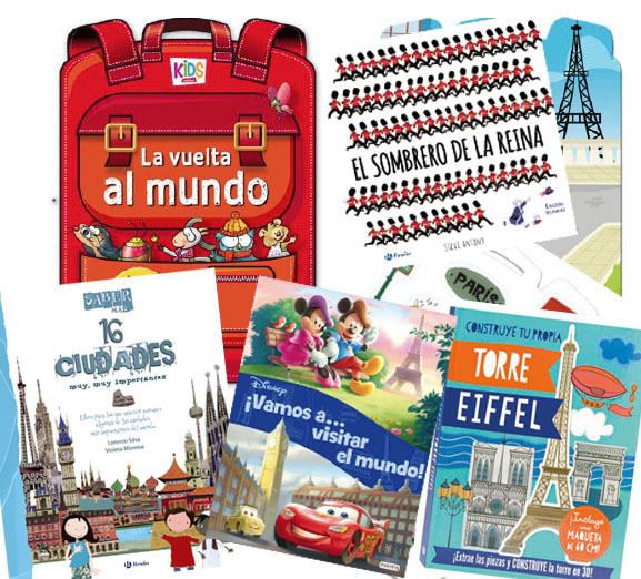 Comenzar a viajar con los libros desde niños