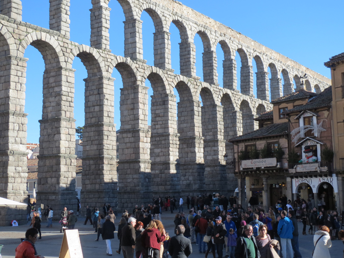 Pasar un día en Segovia