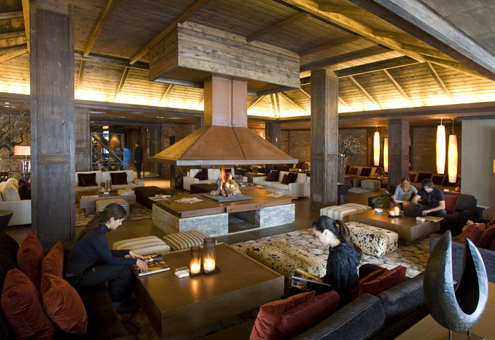Hotel Val de Neu chimenea francesa