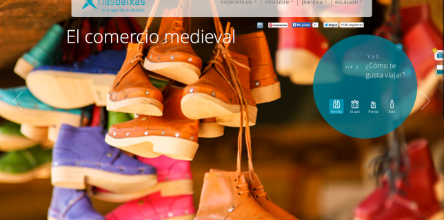 Indica en la plataforma Rías Baixas que te gusta viajar en familia