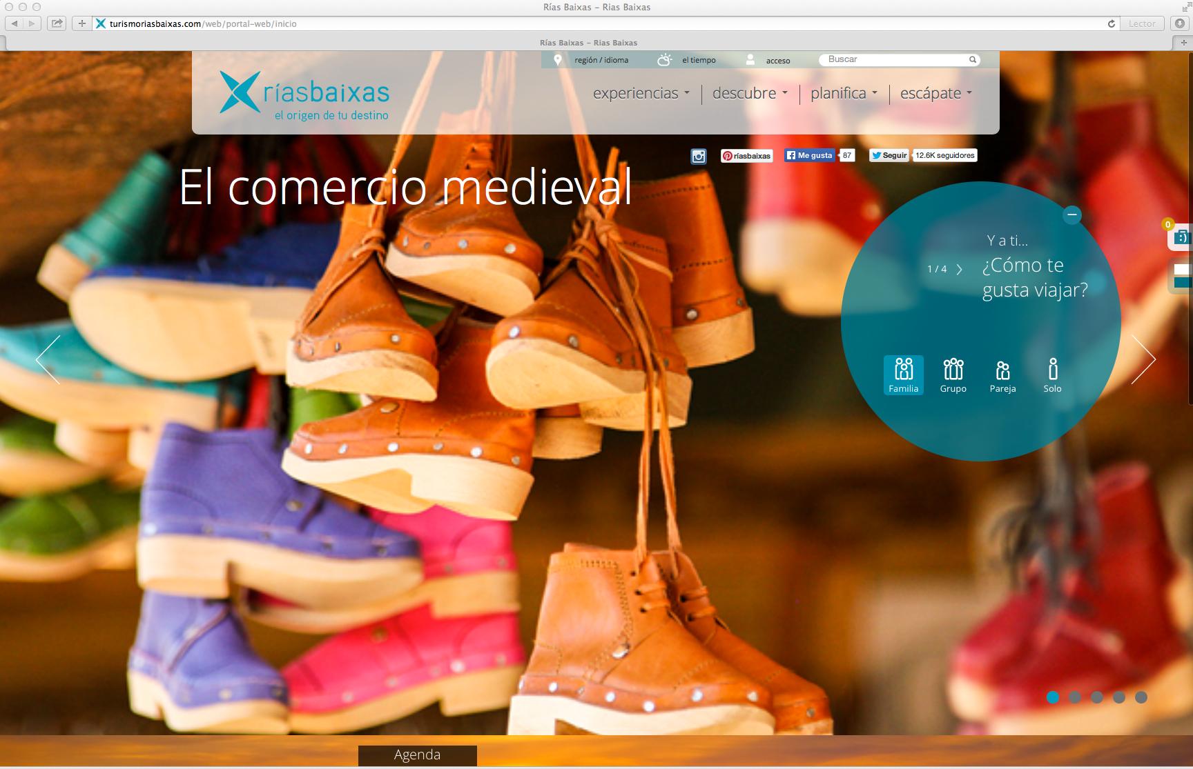 Rías Baixas estrena plataforma web para reservas on line
