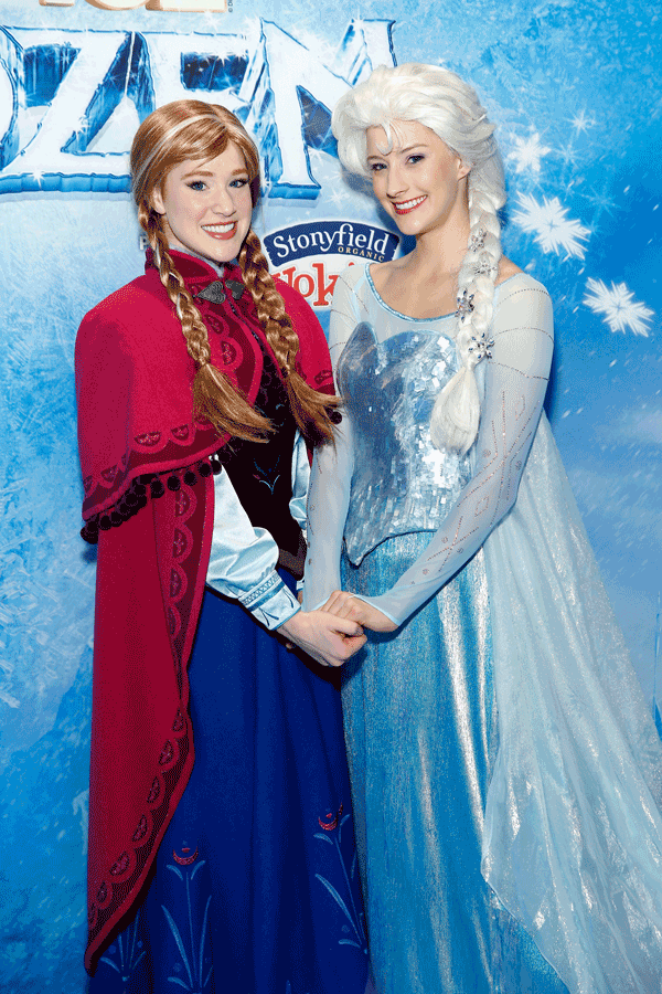 Anna y Elsa serán las protagonistas del nuevo espectáculo del verano. Photo-by-Cindy-OrdGetty-Images-for-FELD-Entertainment