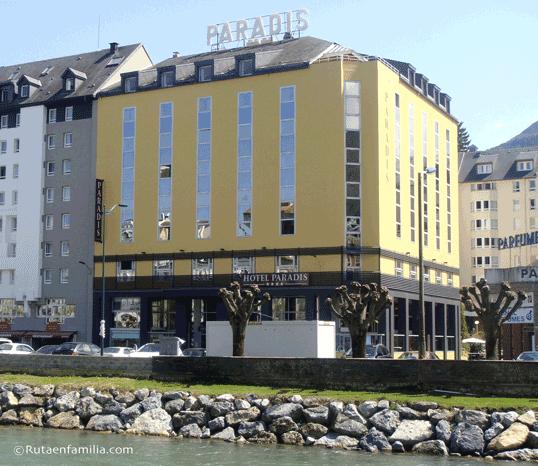 El hotel Paradis es el más grande de Lourdes