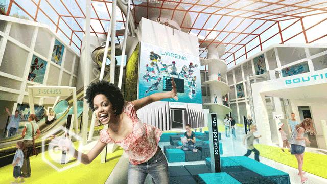Nueva atracción Futuroscope Arena ©-Futuroscope_O-HERAL_D-LAMING-Architecte