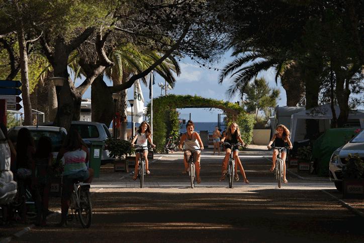 Alojamiento familiar en los campings de Tarragona