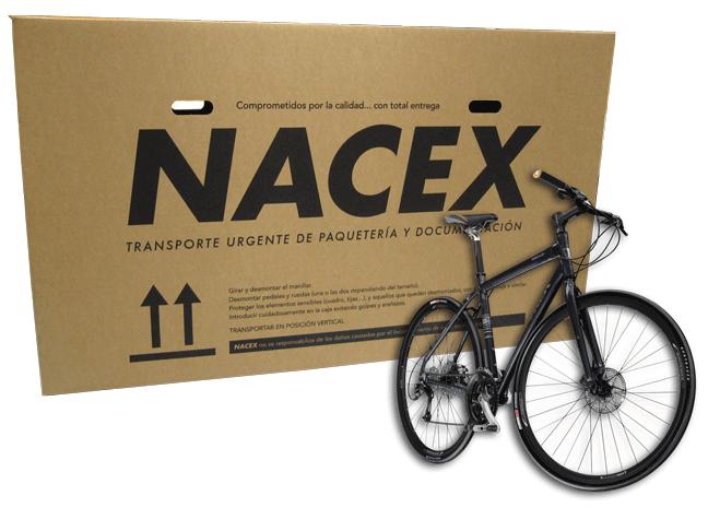 Nacex te lleva tu bici donde quieras cómodamente