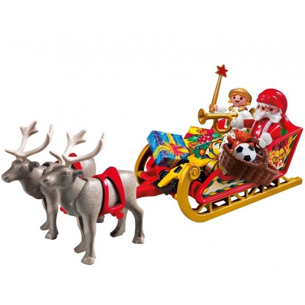 Papá Noel con trineo