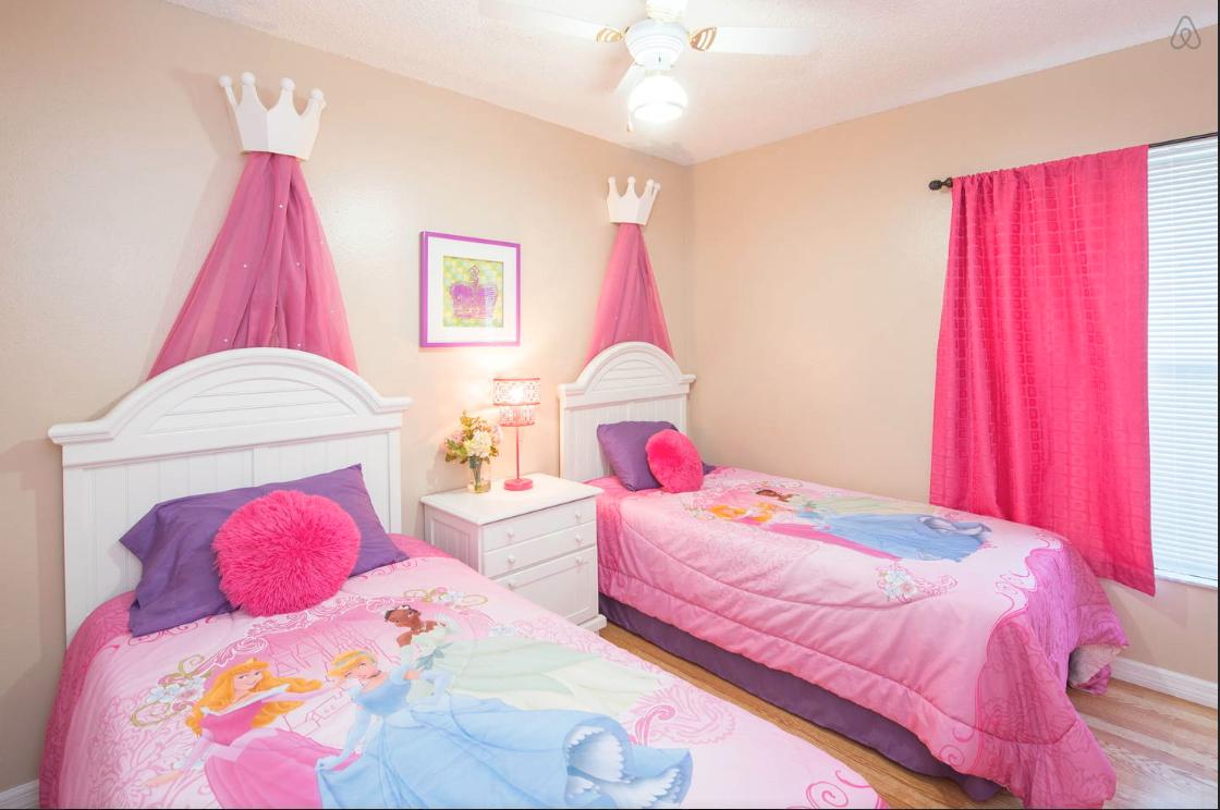 habitación princesas