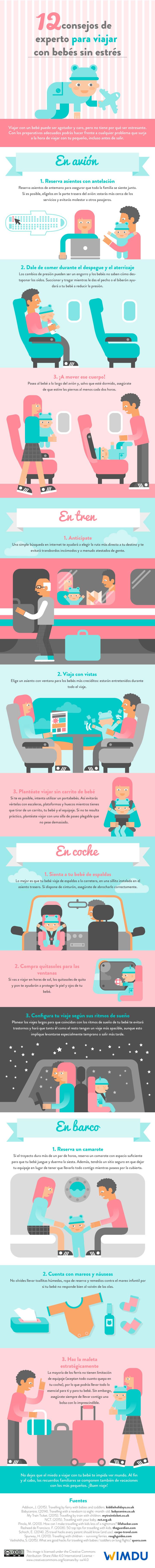 12 consejos de experto para viajar con bebes sin estres