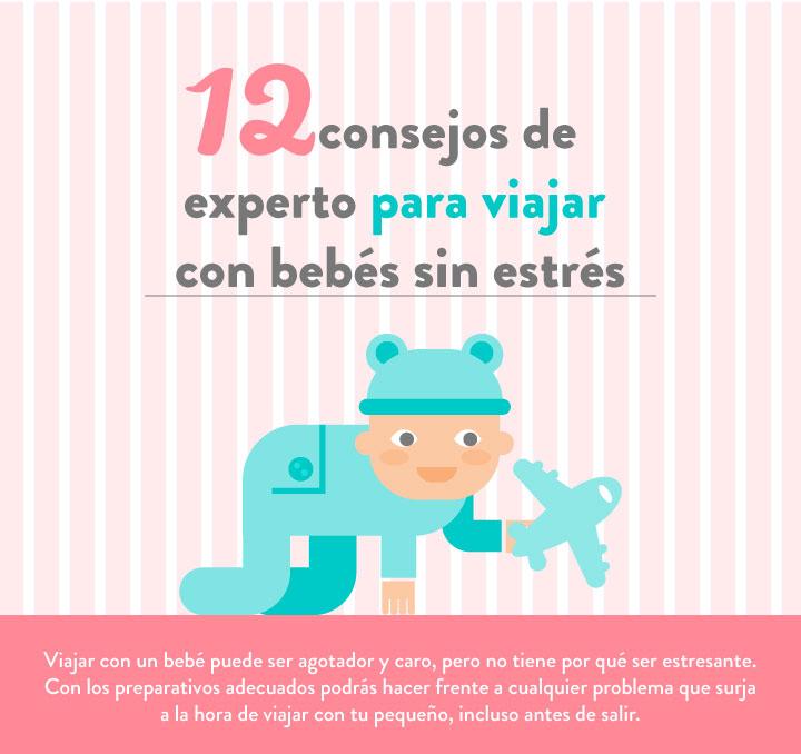 12 Consejos para viajar con bebés