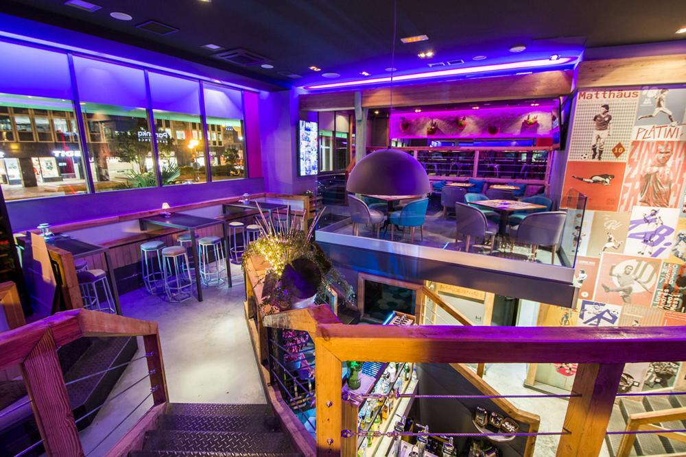 Restaurante Panenka, para disfrutar en familia del finger food y del deporte