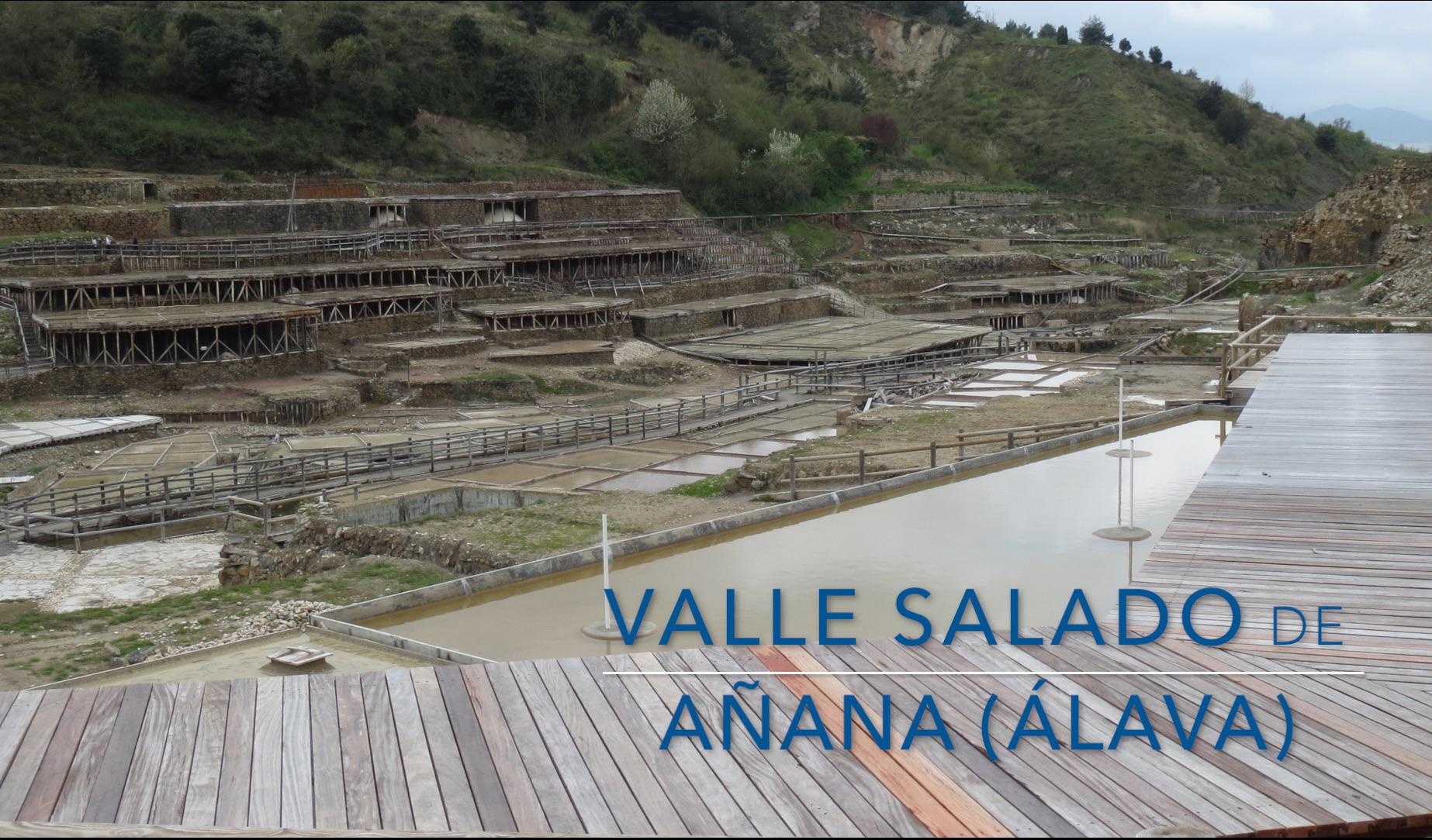 Visita en familia el Valle Salado de Añana
