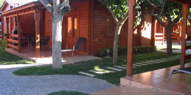 Bungalows en el Camping Joan de Cambrils