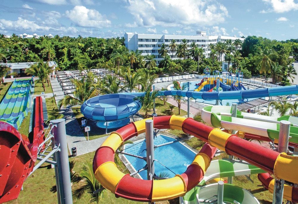 Riu inaugura en Punta Cana su primer parque acuático