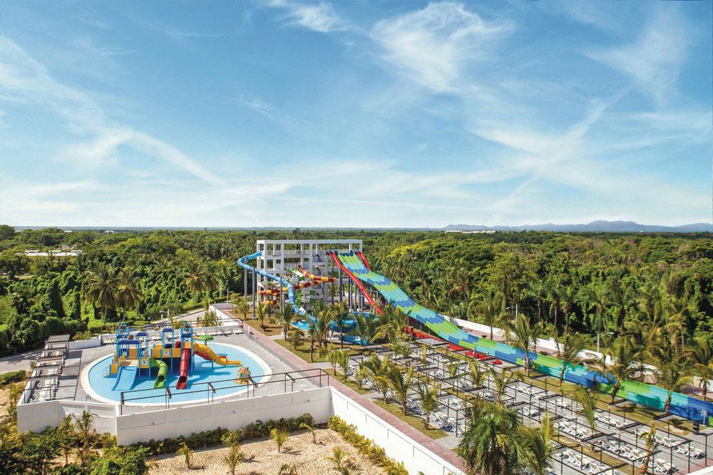 atracciones acuáticas en los hoteles de República Dominicana