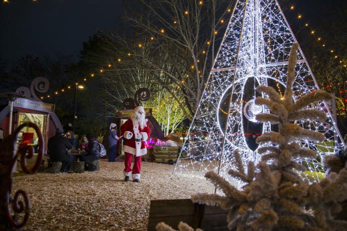 Programación de los Parques Temáticos por Navidad