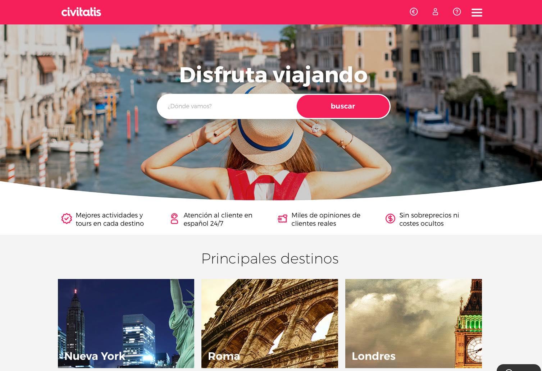Traslados y excursiones en español en destino con Civitatis