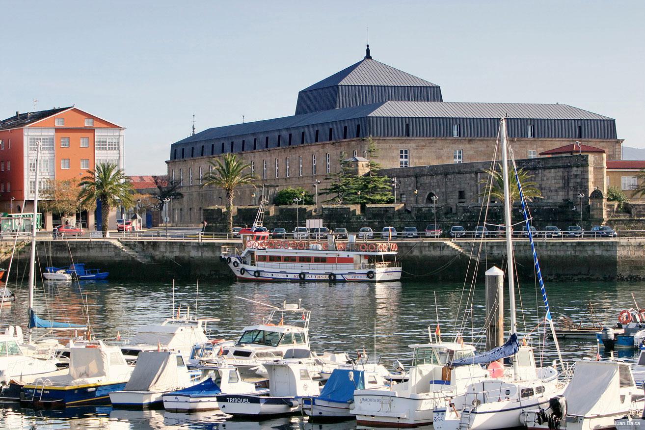 Arsenal-y-lancha-Ferrol