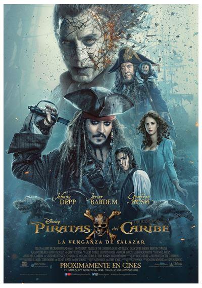 Trailer de Piratas del Caribe: la venganza de Salazar