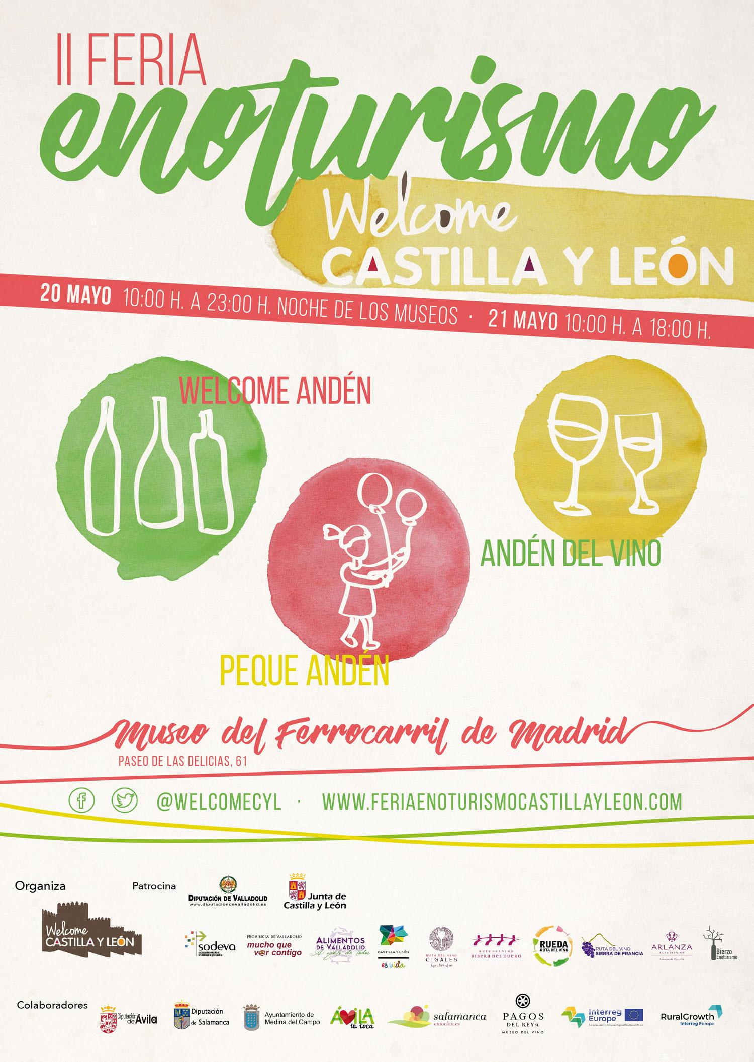 Actividades infantiles en la Feria del Enoturismo en Madrid