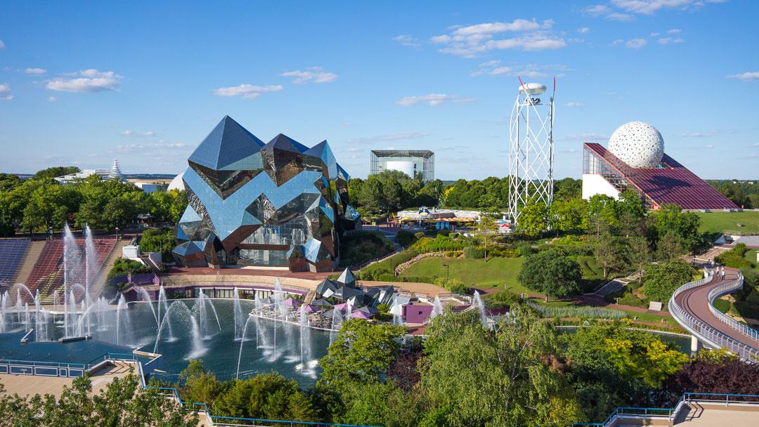 Un viaje en familia al futuro en Futuroscope