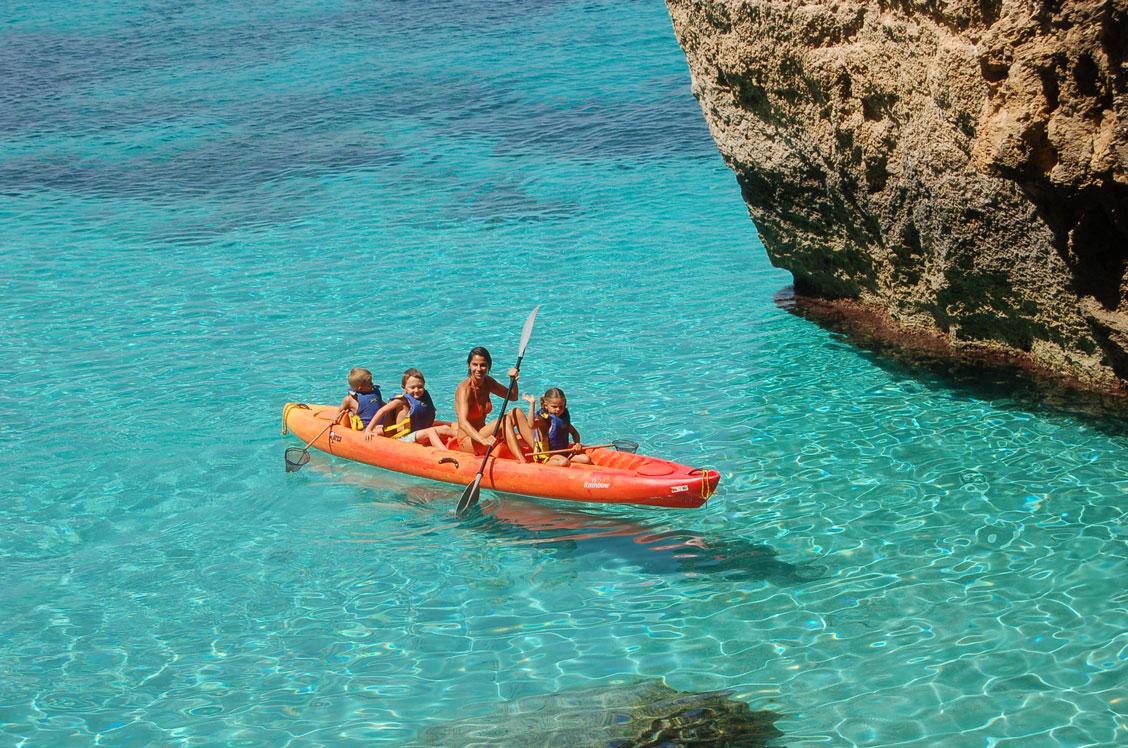 Vacaciones con niños en Formentera