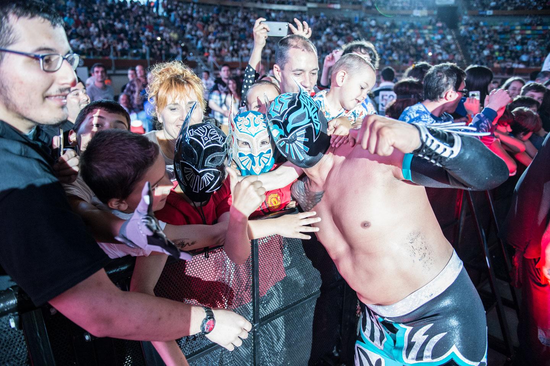 Espectáculo WWE LIVE en Madrid y Barcelona