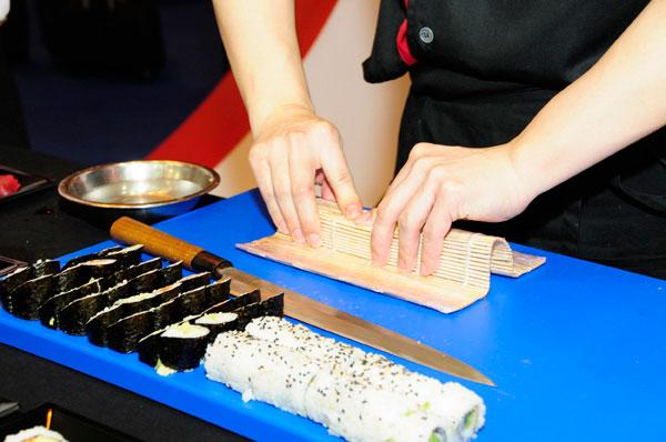 Go! Sushing, comida japonesa en familia