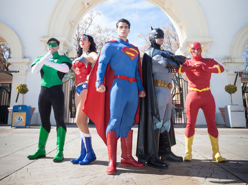 Liga de la Justicia- Superheroes