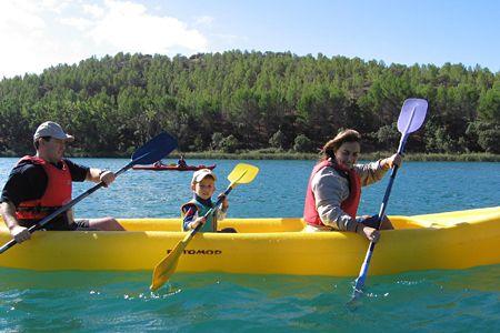 Lagunas ruidera-canoa