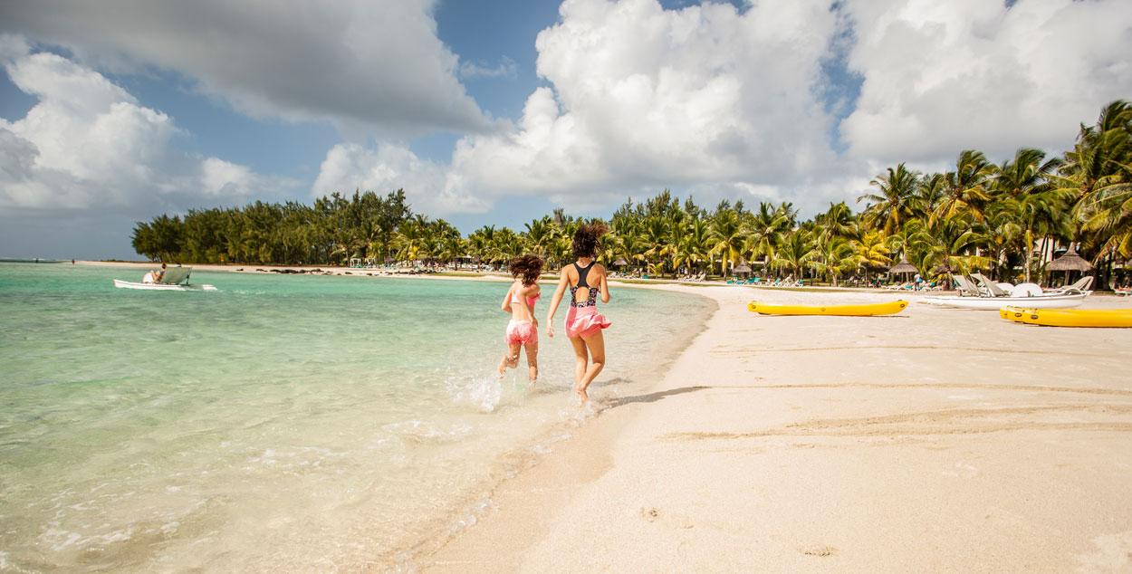 Playa islas Mauricio