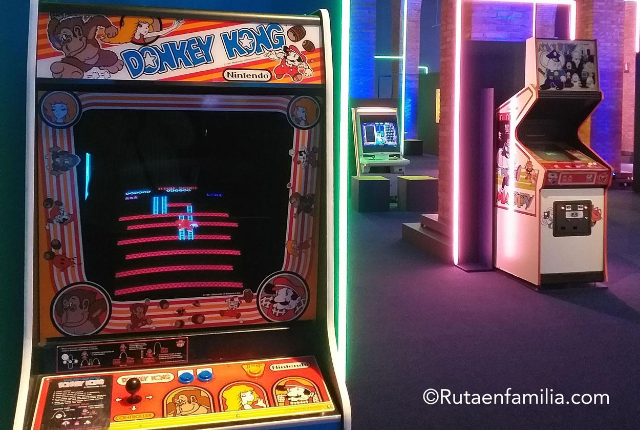 videojuegos exposición Madrid