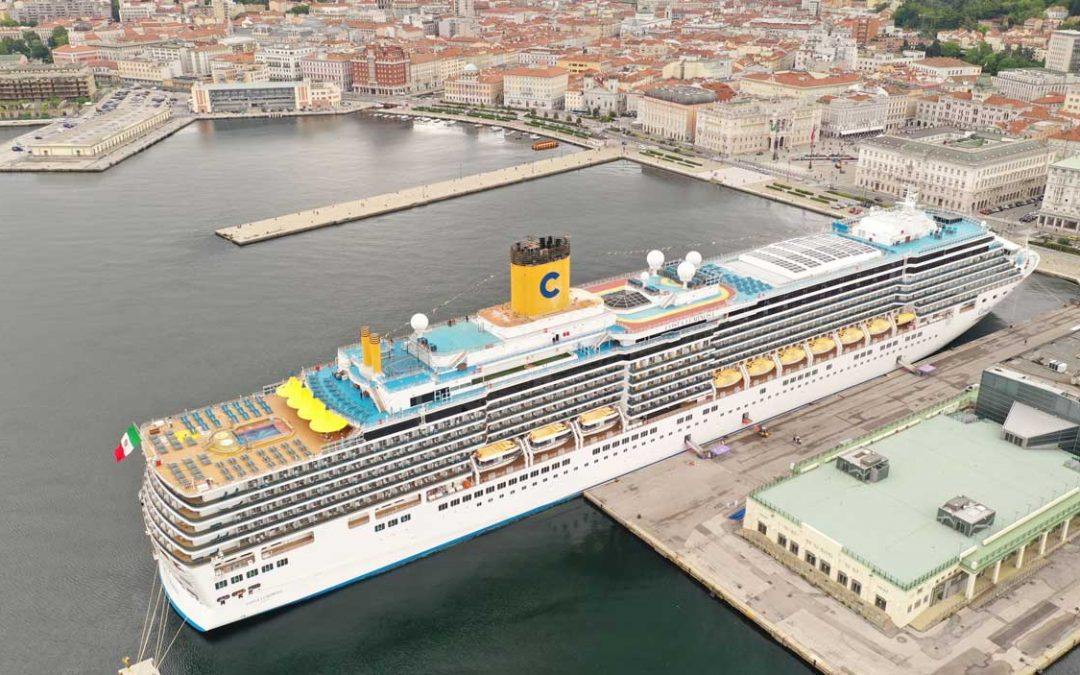 Itinerarios de Costa Cruceros por el Mar Adriático y Grecia