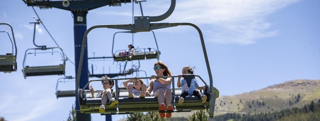 Las estaciones de esquí también son para el verano