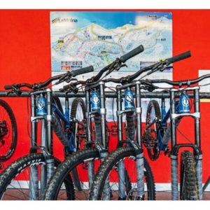 Mountain bike en La Molina