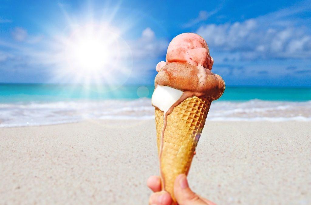 ¡Al rico helado para todos!