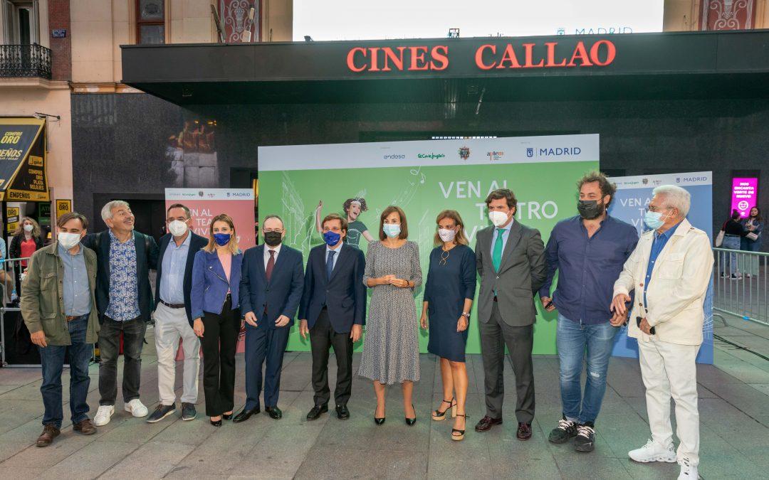 El Ayuntamiento de Madrid impulsa la vuelta a los teatros